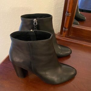 Saks Fifth Avenue leather booties